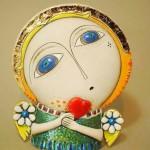 adelaparvu.com despre obiecte de arta din ceramica, ceramica pictata, ingeri din ceramica, artist Aram Hunanyan (19)