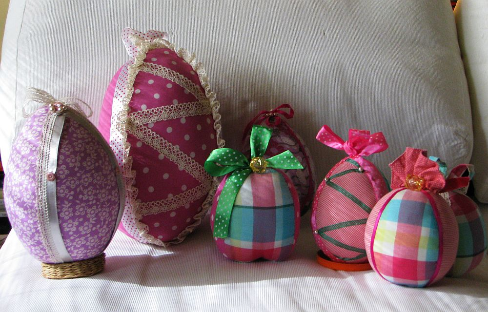 adelaparvu.com despre oua de Paste si flori decorative din textile, designer Mihaela Poenaru (11)