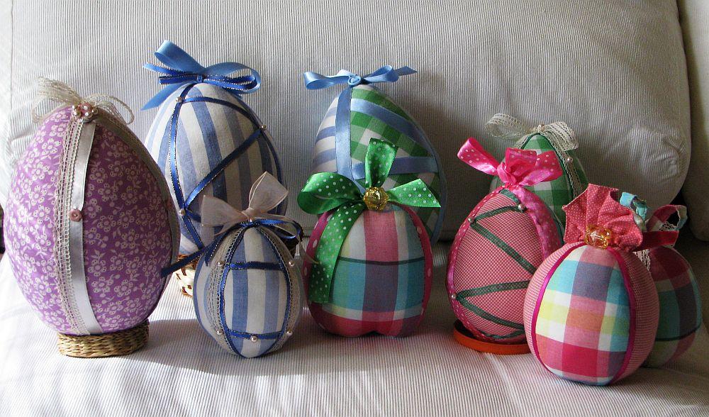 adelaparvu.com despre oua de Paste si flori decorative din textile, designer Mihaela Poenaru (12)