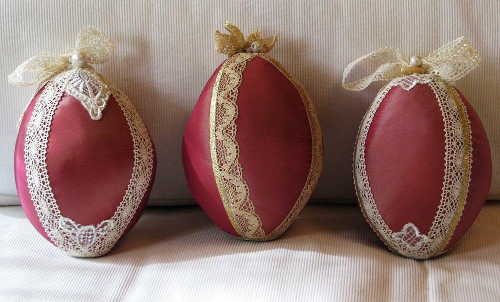 adelaparvu.com despre oua de Paste si flori decorative din textile, designer Mihaela Poenaru (3)