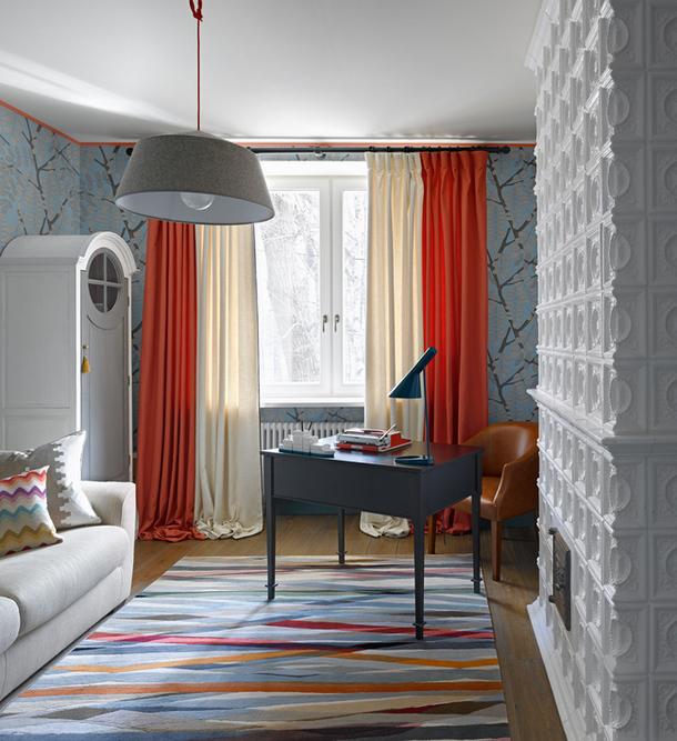 adelaparvu.com despre partament cu patru camere, designer Ekaterina Fedorova, Foto AD Russia (3)