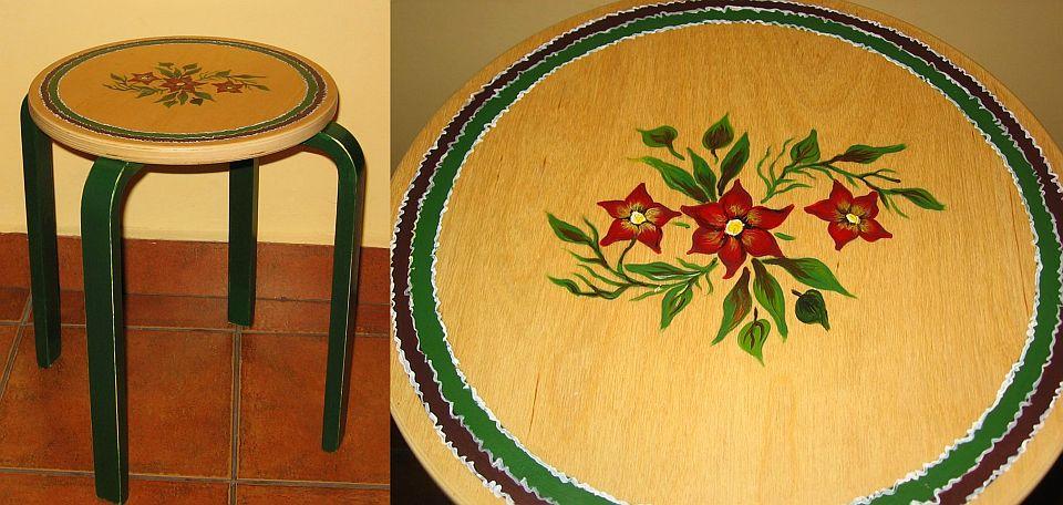 adelaparvu.com despre perne, cuverturi pictate manual, mobilier pictat manual, artist Roxana Sivache (28)