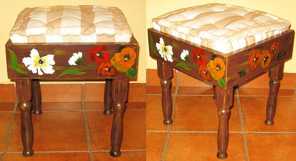adelaparvu.com despre perne, cuverturi pictate manual, mobilier pictat manual, artist Roxana Sivache (30)
