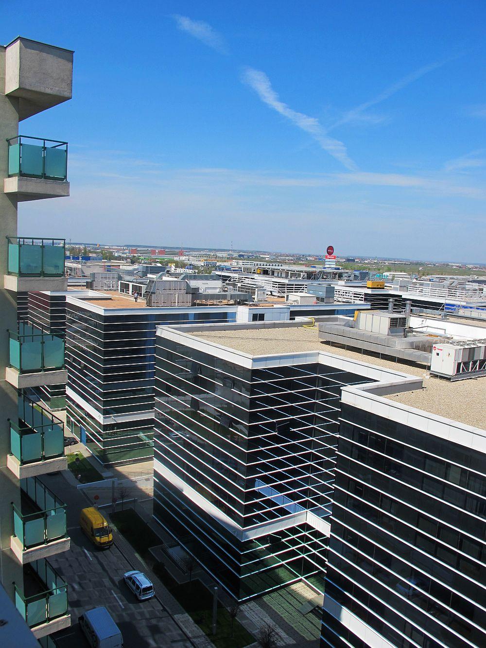 Panorama de la un etaj superior din West Gate Studios