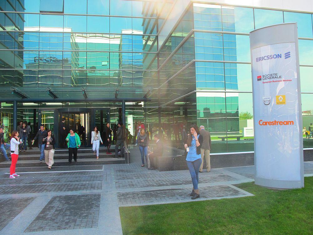 Parcul de business West Gate din care face practic parte si West Gate Studios