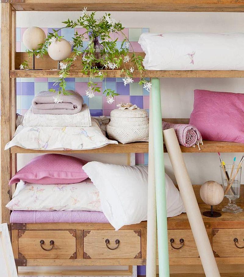 adelaparvu.com despre roz pastelat in living, pereti roz in living (3)
