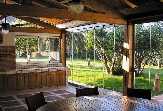adelaparvu.com despre sistem de geamuri culisante pentru balcon si terase, sistem Allglass Todocristal (1)