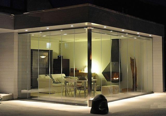 adelaparvu.com despre sistem de geamuri culisante pentru balcon si terase, sistem Allglass Todocristal (11)