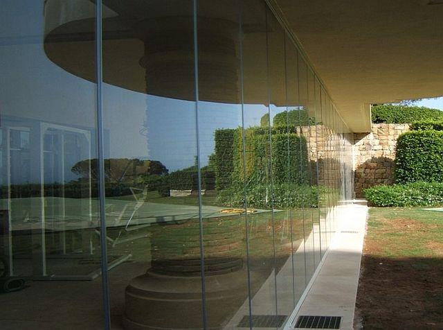 adelaparvu.com despre sistem de geamuri culisante pentru balcon si terase, sistem Allglass Todocristal (13)