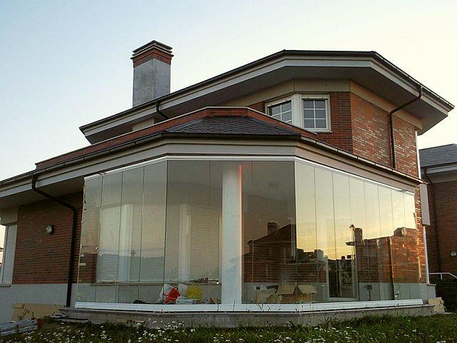adelaparvu.com despre sistem de geamuri culisante pentru balcon si terase, sistem Allglass Todocristal (22)