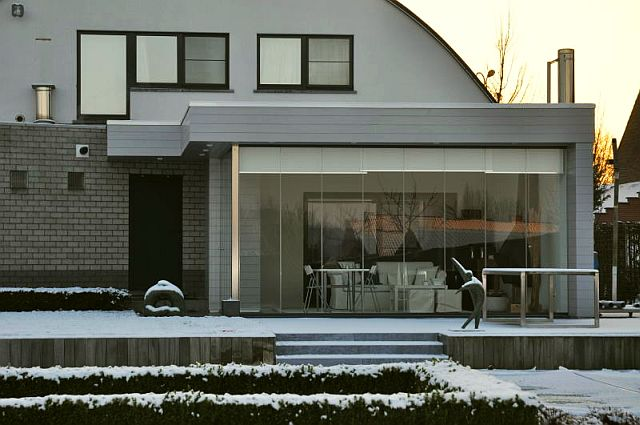 adelaparvu.com despre sistem de geamuri culisante pentru balcon si terase, sistem Allglass Todocristal (3)