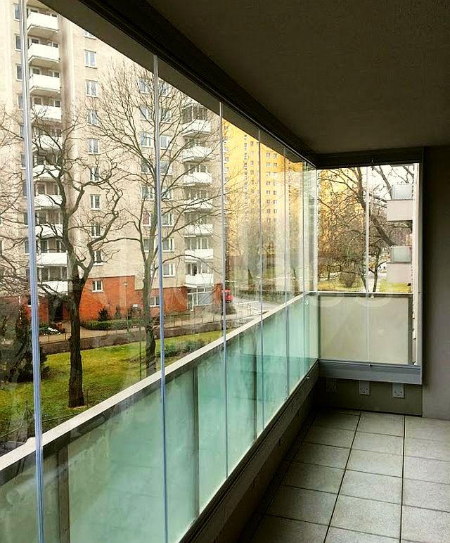 adelaparvu.com despre sistem de geamuri culisante pentru balcon si terase, sistem Allglass Todocristal (5)