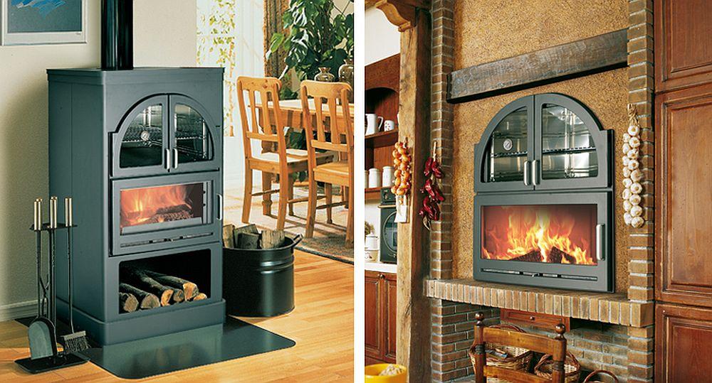 adelaparvu.com despre sobe de gatit pe lemne, cuptoare pe lemne, sobe de incalzit cu lemne Hergom