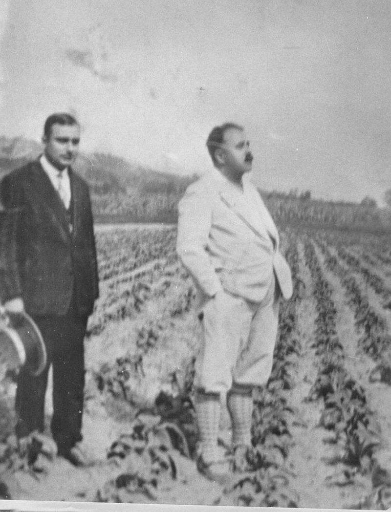 Andrei Farago (dreapta), Foto arhiva Fares