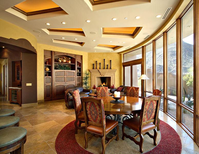 adelaparvu.com despre vila cu arhitectura organica, vila Arizona, casa americana, Robinette Architects (1)