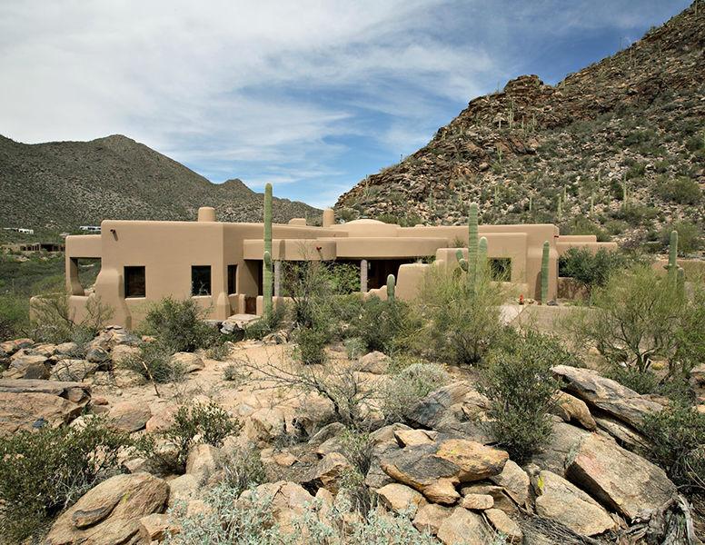 adelaparvu.com despre vila cu arhitectura organica, vila Arizona, casa americana, Robinette Architects (5)