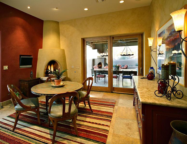 adelaparvu.com despre vila cu arhitectura organica, vila Arizona, casa americana, Robinette Architects (6)