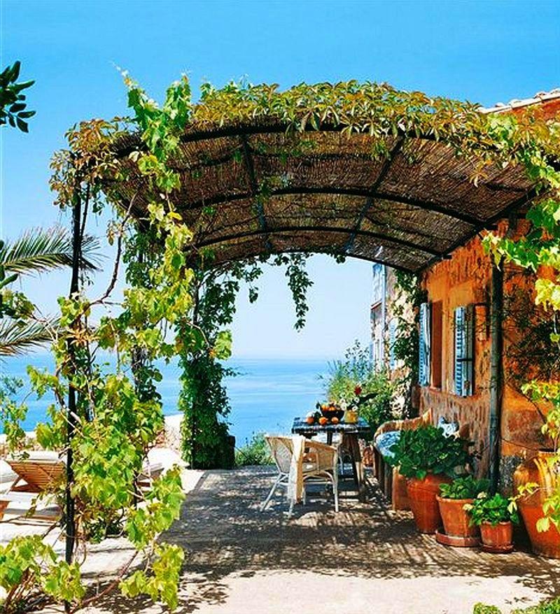 adelaparvu.com idei de pergole si umbrare pentru gradina, Foto ElMueble (3)