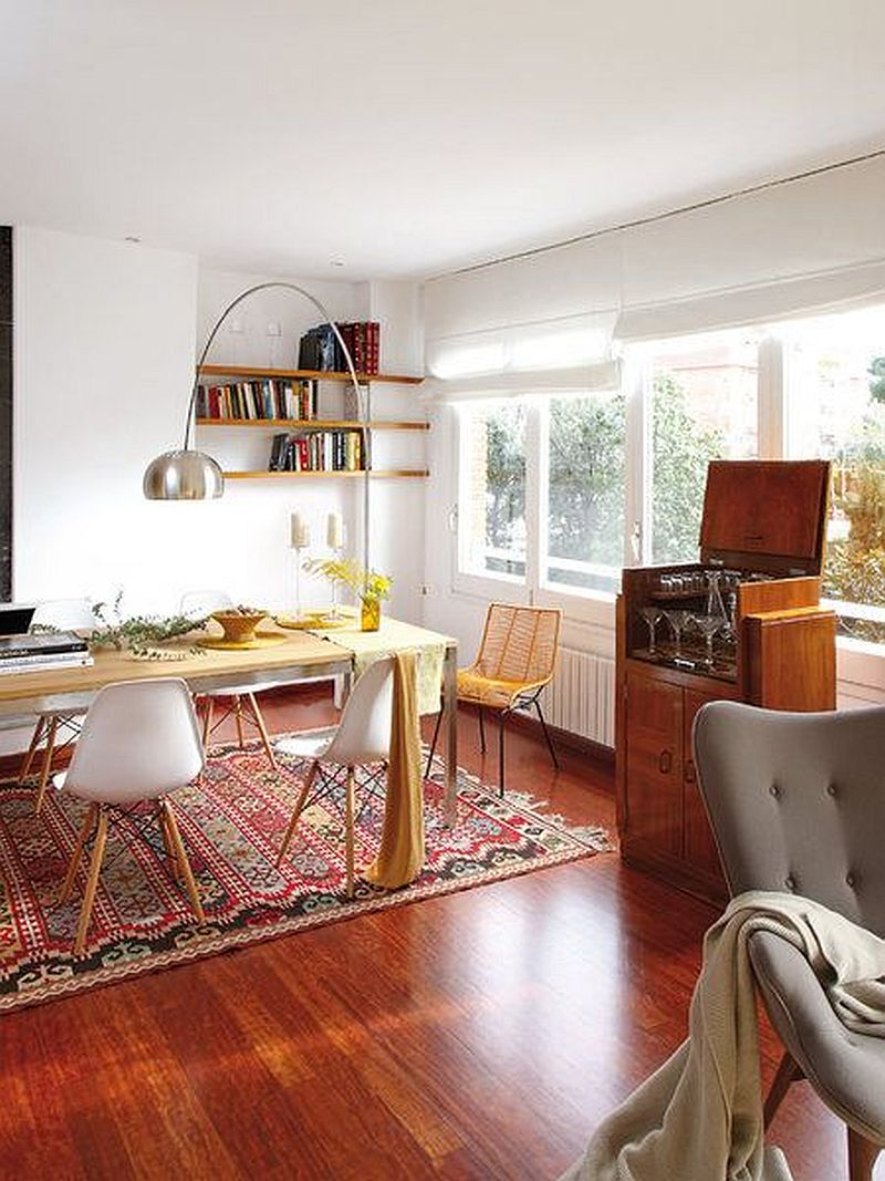 adelaparvu.com amenajare apartament de bloc cu mobila veche si piese noi, interior vintage, Foto MiCasa (5)