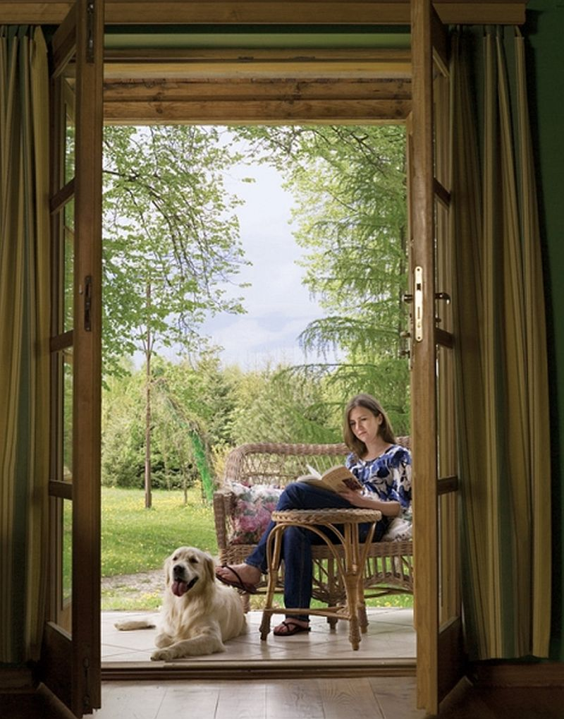 adelaparvu.com casa rustica, casa la tara, casa Polonia, casa cu berze, Foto Michal Skorupski (17)