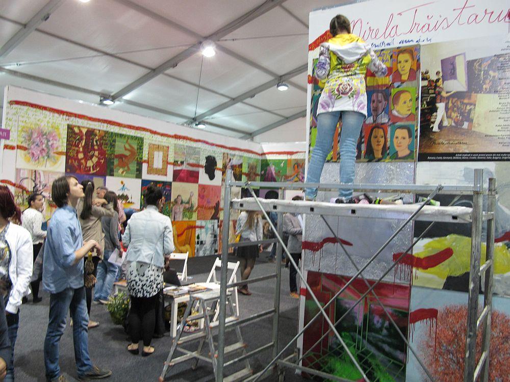 adelaparvu.com despre Art Safari 2014, stand ICR, artist Mirela Traistaru, proiect Add to address book (11)