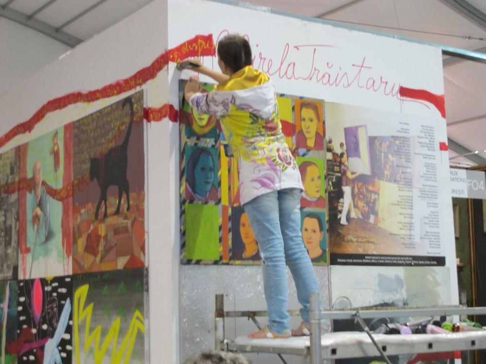 adelaparvu.com despre Art Safari 2014, stand ICR, artist Mirela Traistaru, proiect Add to address book (2)