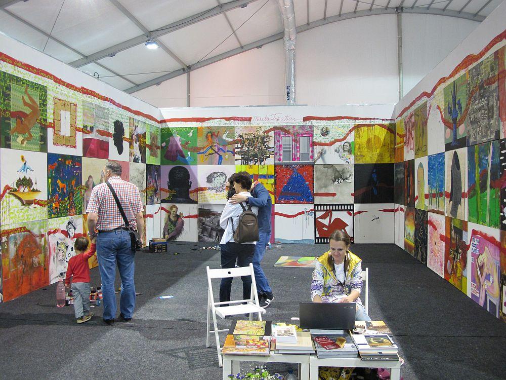 adelaparvu.com despre Art Safari 2014, stand ICR, artist Mirela Traistaru, proiect Add to address book (5)
