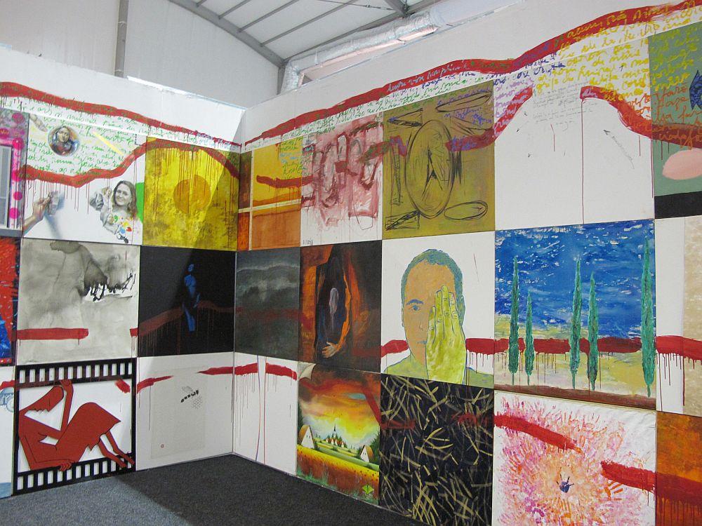 adelaparvu.com despre Art Safari 2014, stand ICR, artist Mirela Traistaru, proiect Add to address book (6)