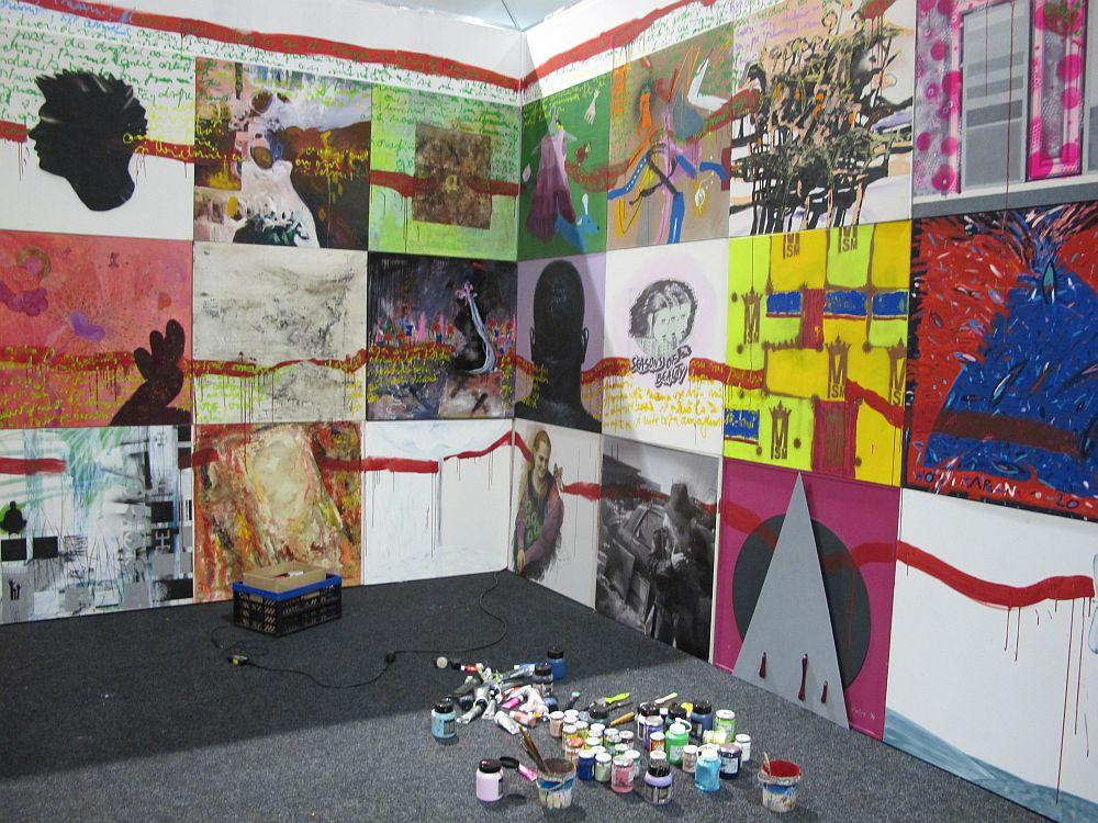 adelaparvu.com despre Art Safari 2014, stand ICR, artist Mirela Traistaru, proiect Add to address book (7)