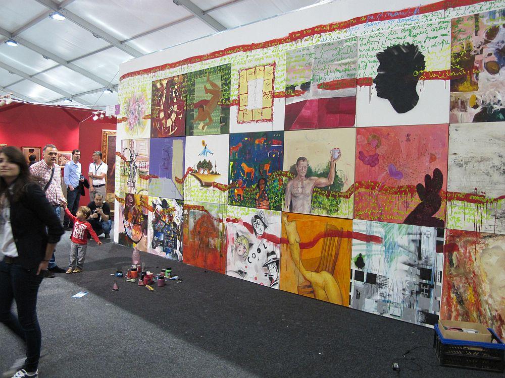adelaparvu.com despre Art Safari 2014, stand ICR, artist Mirela Traistaru, proiect Add to address book (8)