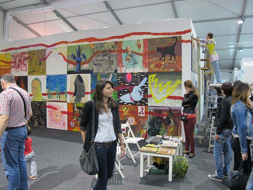 adelaparvu.com despre Art Safari 2014, stand ICR, artist Mirela Traistaru, proiect Add to address book (9)