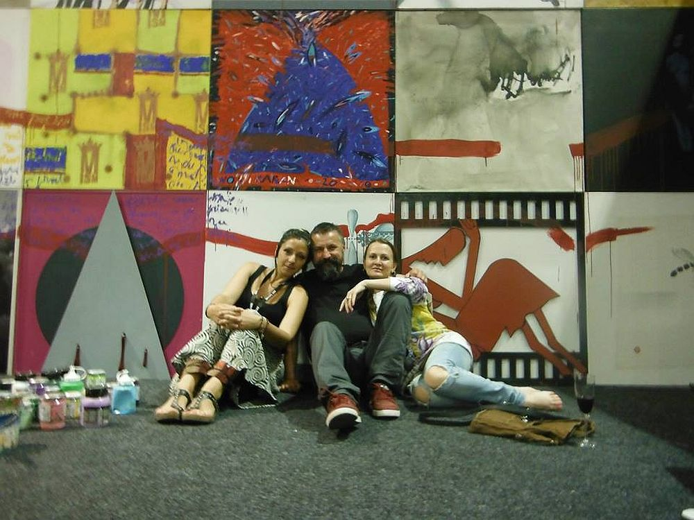 In foto artistii Raluca Ghindeanu, Gyori Csaba is Mirela Traistaru
