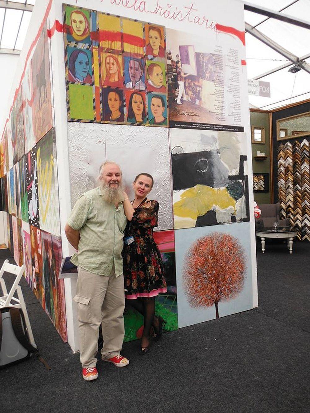 Artistul Murivale cu Mirela Traistaru