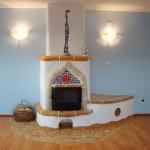 adelaparvu.com despre Daniel si Elena Barbu, soba semineu decorata, casa de batrani Light House Radovanu (3)