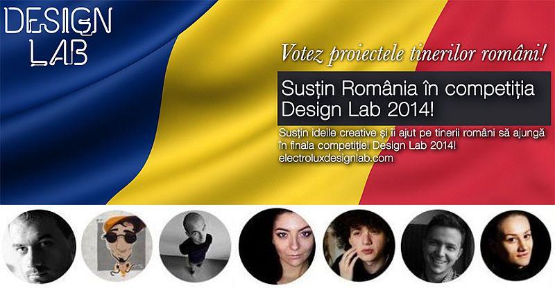 adelaparvu.com despre Electrolux Design Lab 2014 etapa 100, proiecte Romania