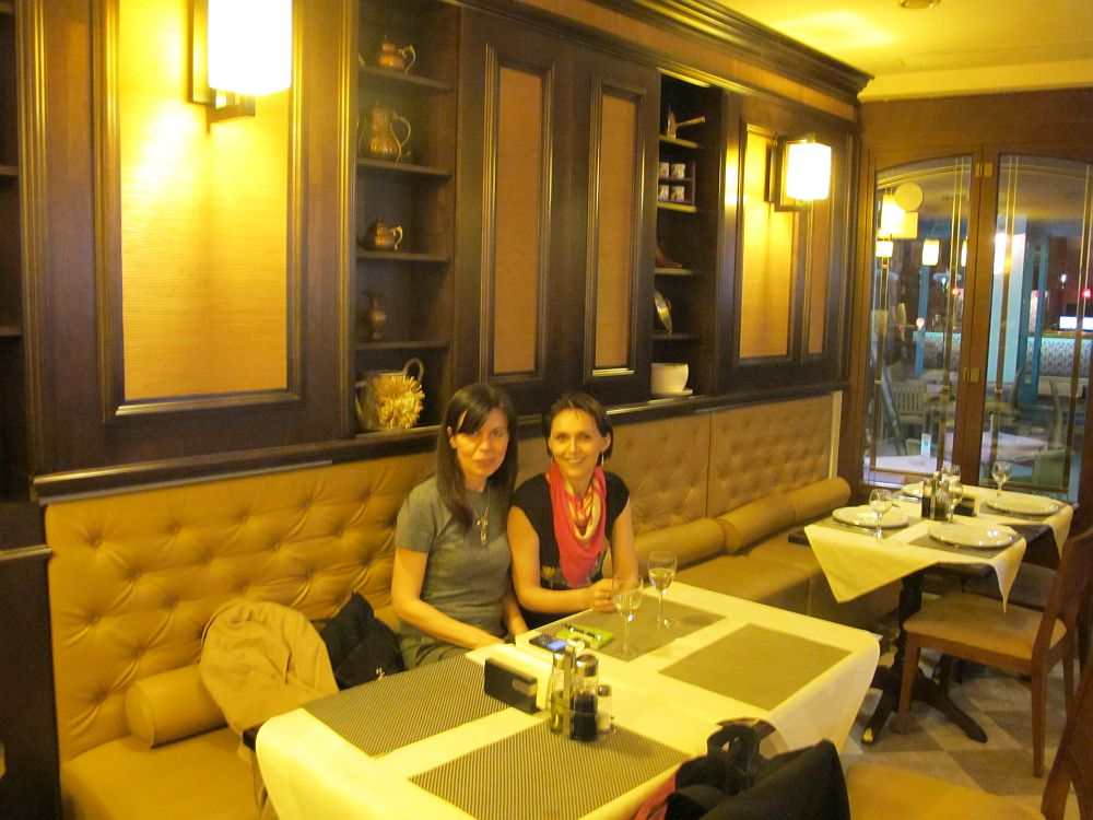 Alaturi de prietena mea Ruxandra Chiurtu, blogger SpaLiving