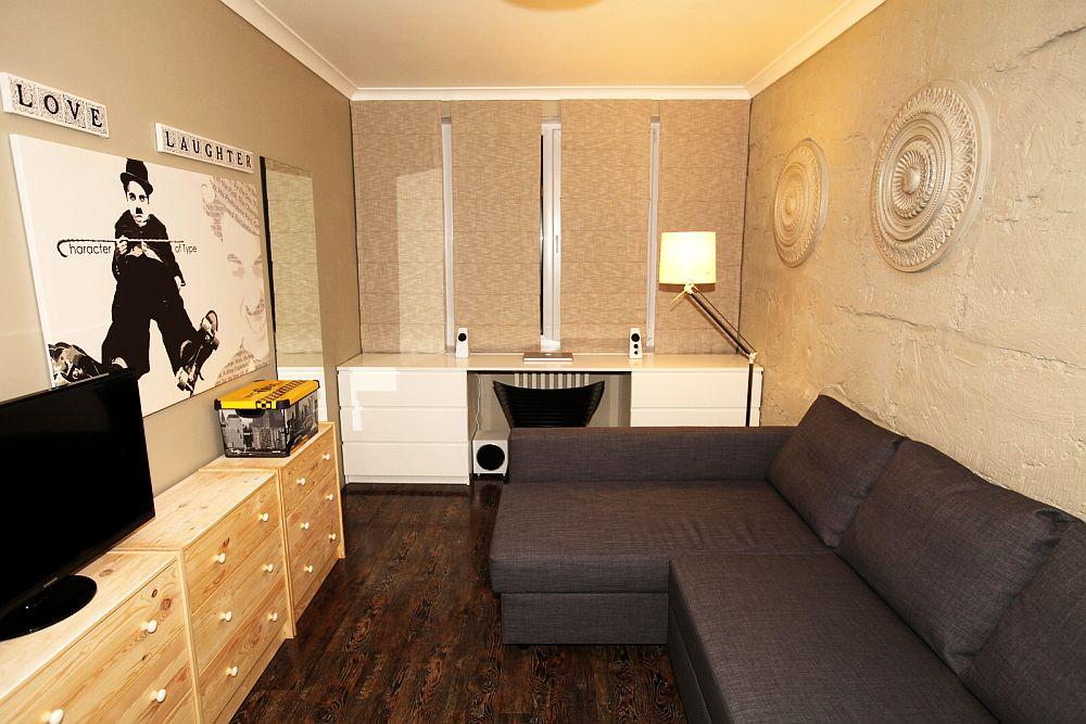 adelaparvu.com despre apartament 3 camere Bucuresti, designer Tanya Solomitchi (1)