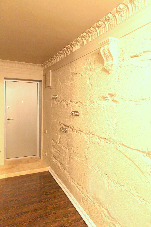 Holul de la intrarea in apartament
