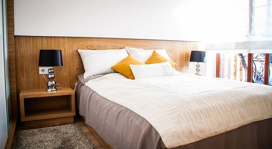 adelaparvu.com despre apartament de doua camere cu finisaje din lemn, design Studio Formy (2)