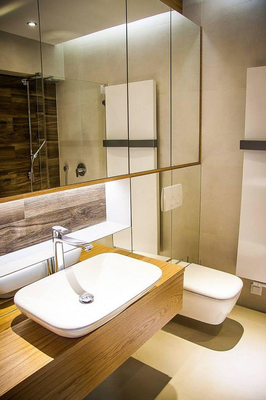 adelaparvu.com despre apartament de doua camere cu finisaje din lemn, design Studio Formy (4)