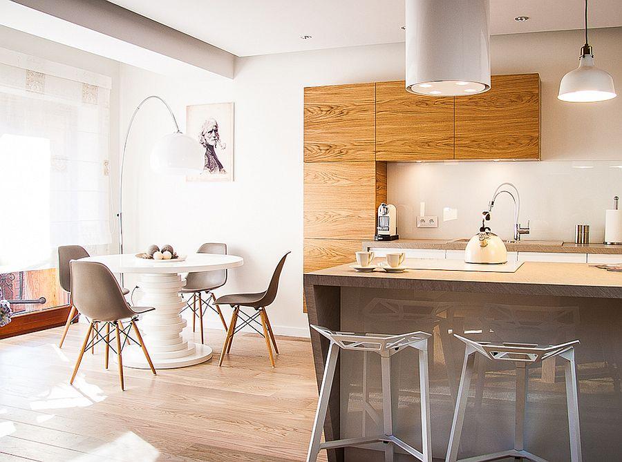 adelaparvu.com despre apartament de doua camere cu finisaje din lemn, design Studio Formy (6)