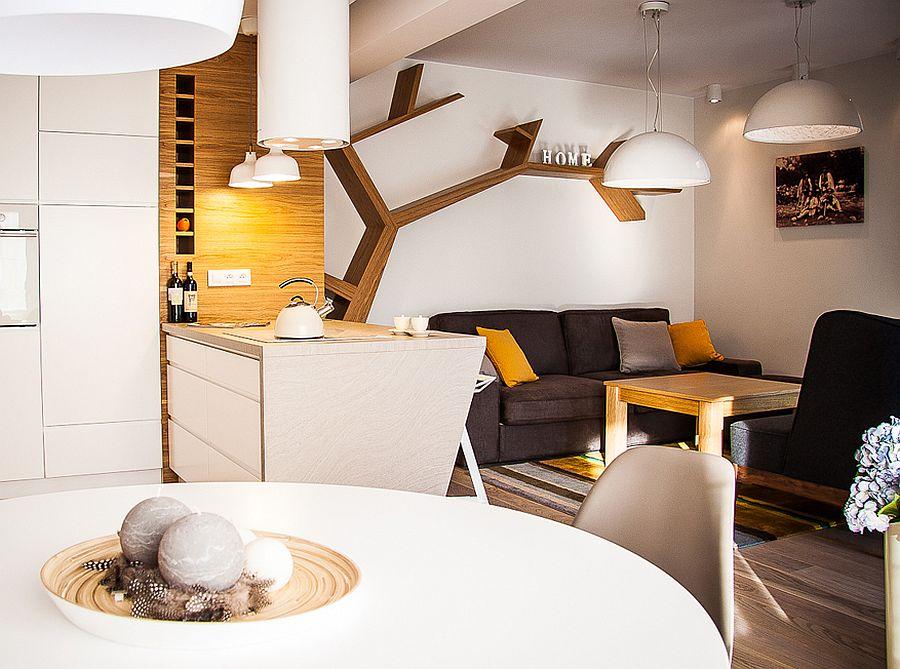 adelaparvu.com despre apartament de doua camere cu finisaje din lemn, design Studio Formy (7)
