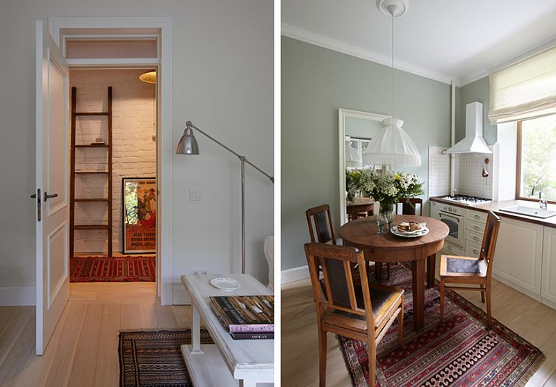 adelaparvu.com despre apartament doua camere in stil rustic, Designer de interior Elena Pritula, Foto Dmitry Livshits (14)
