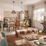 adelaparvu.com despre apartament in stil provence in nuante delicate, design Rotaeche Santayana, Foto ElMueble (10)