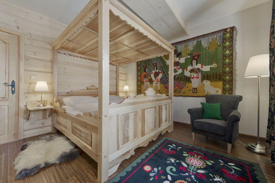 adelaparvu.com despre apartamente si case in stil rustic bucovinean, Apartament 11 WillaTatiana II, Zakopane, Polonia (1)