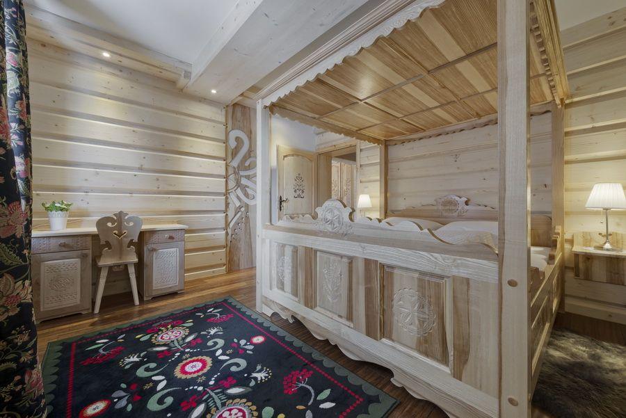 adelaparvu.com despre apartamente si case in stil rustic bucovinean, Apartament 11 WillaTatiana II, Zakopane, Polonia (2)