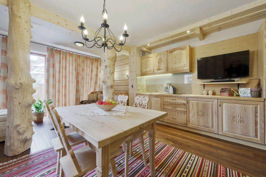adelaparvu.com despre apartamente si case in stil rustic bucovinean, Apartament 11 WillaTatiana II, Zakopane, Polonia (5)