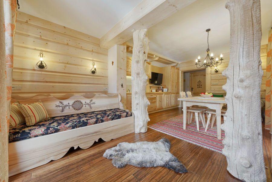 adelaparvu.com despre apartamente si case in stil rustic bucovinean, Apartament 11 WillaTatiana II, Zakopane, Polonia (7)