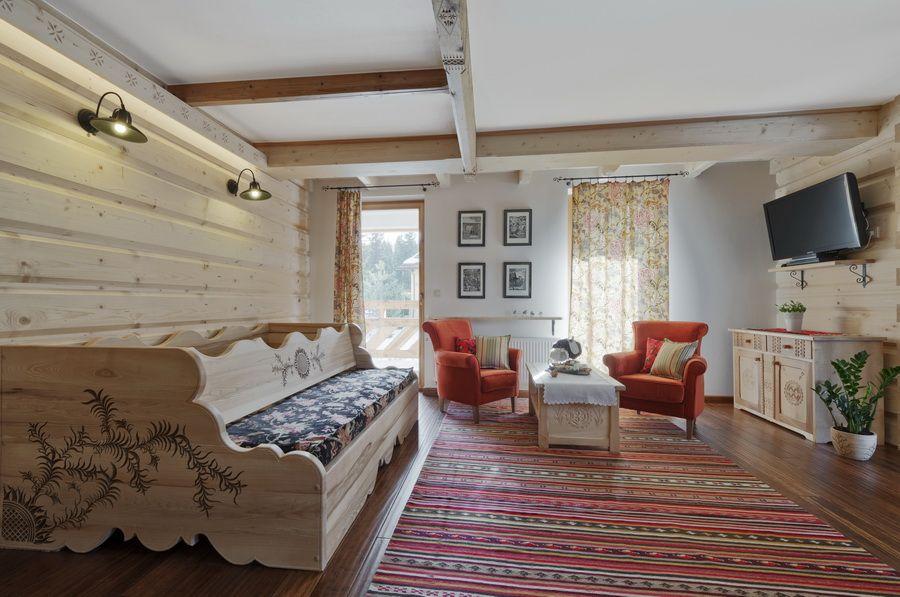 adelaparvu.com despre apartamente si case in stil rustic bucovinean, Apartament 12 WillaTatiana II, Zakopane, Polonia (6)