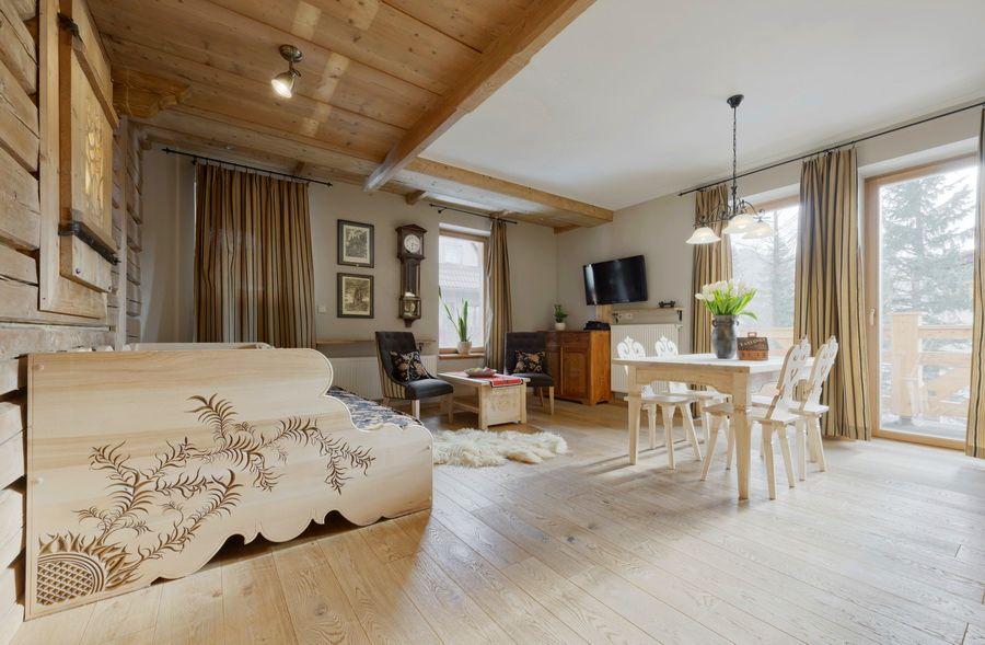 adelaparvu.com despre apartamente si case in stil rustic bucovinean, Apartament 14 WillaTatiana II, Zakopane, Polonia